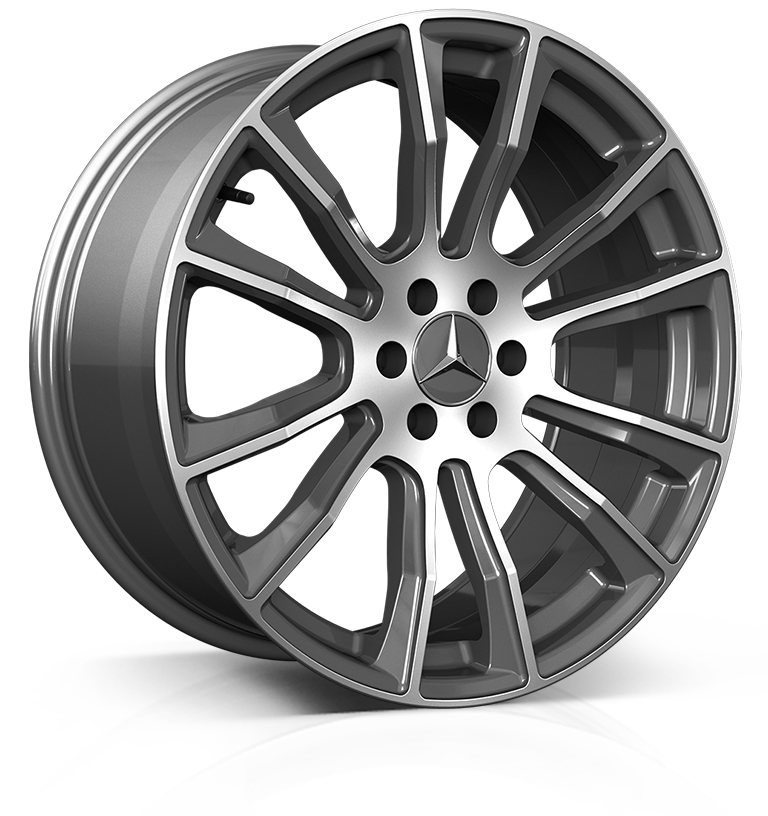 Hawke Denali 20 inch wheel finished in Gunmetal Polished; drilled to 6-114 stud pattern