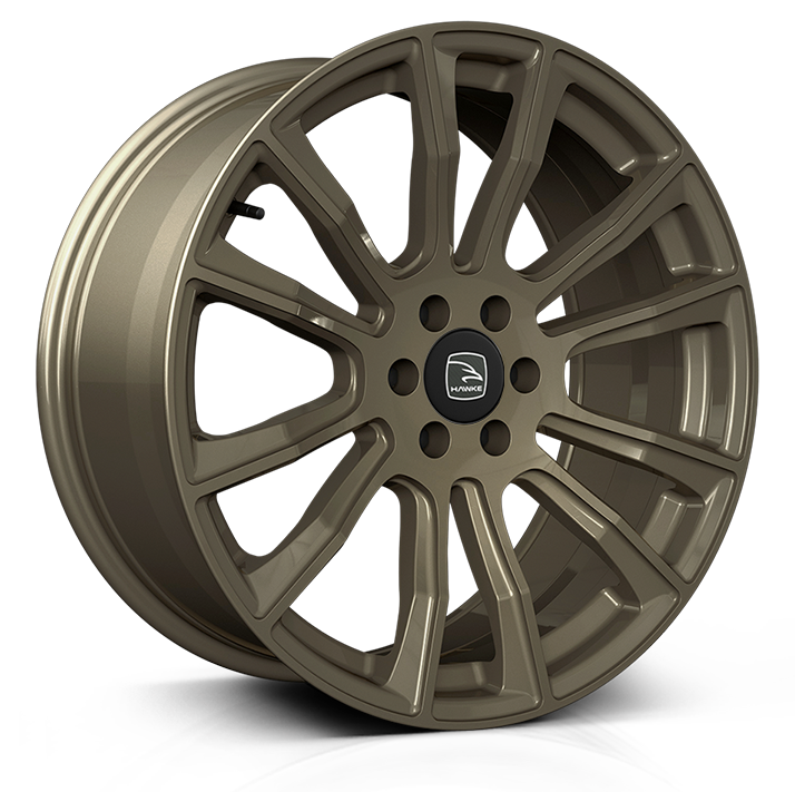 Hawke Denali 20 inch wheel finished in Matt Bronze; drilled to 6-114 stud pattern